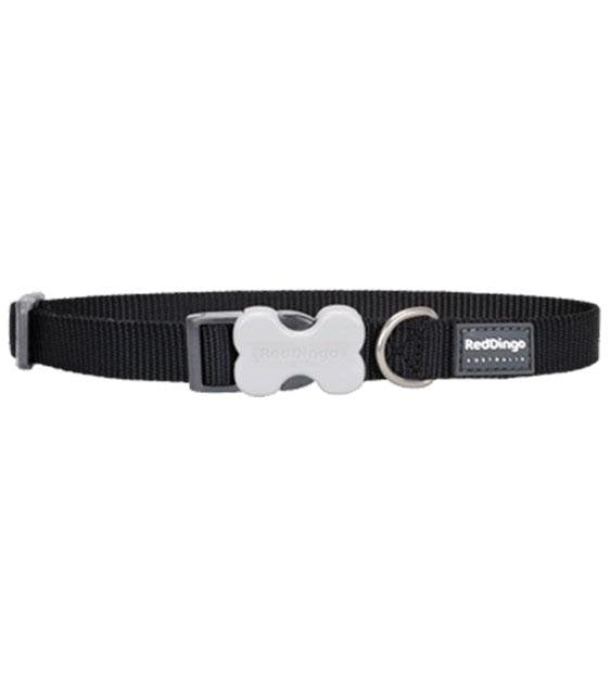 Red Dingo Classic Dog Collar (Black)