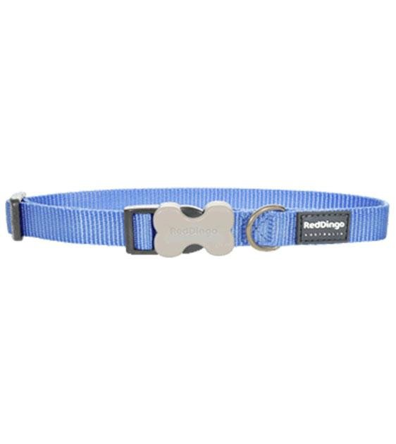 Red Dingo Classic Dog Collar (Medium Blue)