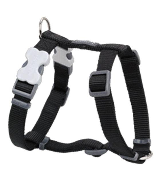 Red Dingo Classic Dog Harness (Black)