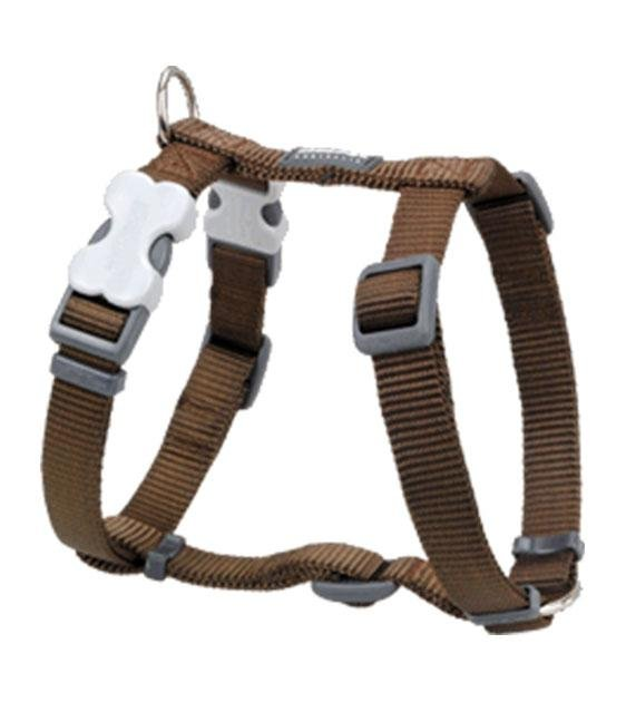 Red Dingo Classic Dog Harness (Brown)