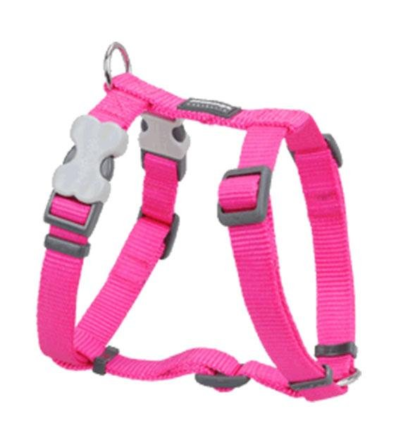 Red Dingo Classic Dog Harness (Hot Pink)