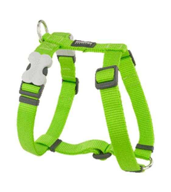 Red Dingo Classic Dog Harness (Lime Green)