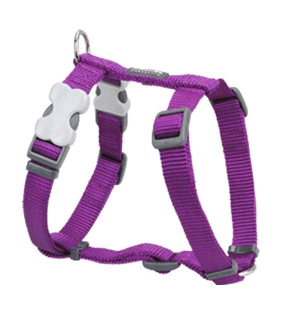 Red Dingo Classic Dog Harness (Purple)