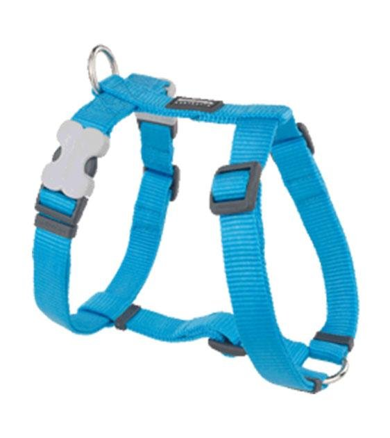 Red Dingo Classic Dog Harness (Turquoise)