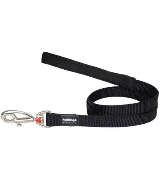 Red Dingo Classic Dog Lead (Black)