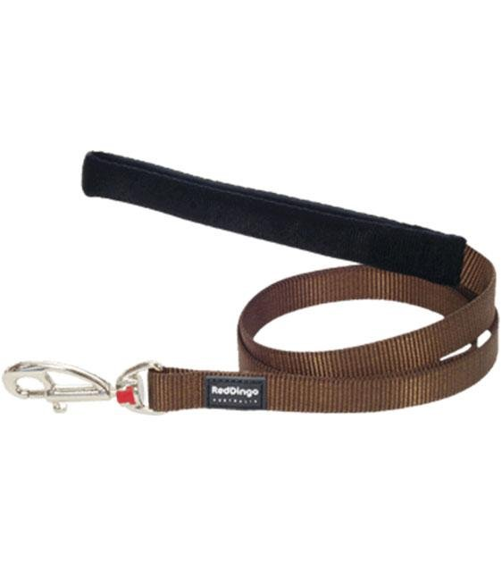 Red Dingo Classic Dog Lead (Brown)