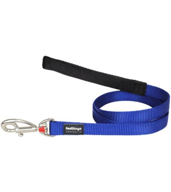 Red Dingo Classic Dog Lead (Dark Blue)