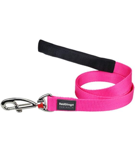 Red Dingo Classic Dog Lead (Hot Pink)