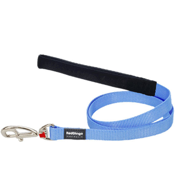 Red Dingo Classic Dog Lead (Medium Blue)