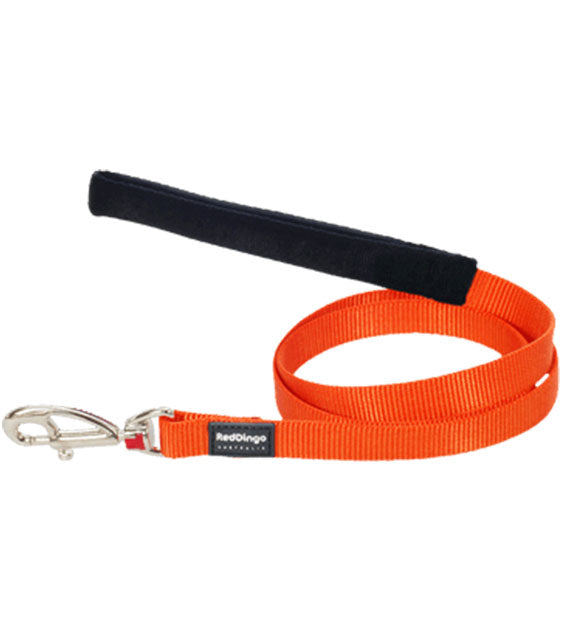 Red Dingo Classic Dog Lead (Orange)