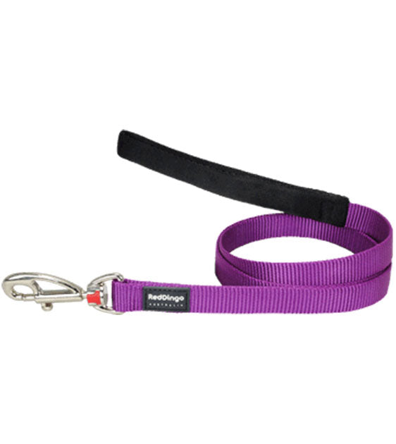 Red Dingo Classic Dog Lead (Purple)