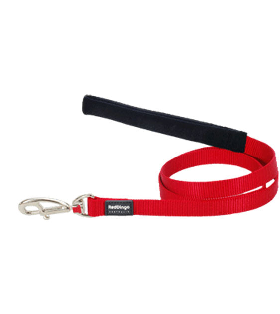 Red Dingo Classic Dog Lead (Red)