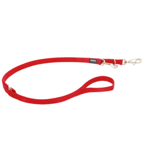 Red Dingo Classic Multi-Purpose Dog Lead (Red)