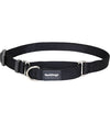 Red Dingo Martingale Choke Prevention Dog Collar (Black)