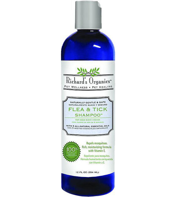 Richard's Organic Natural Flea & Tick Dog Shampoo