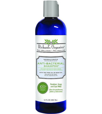 Richard's Organics Anti-Bacterial Dog Shampoo