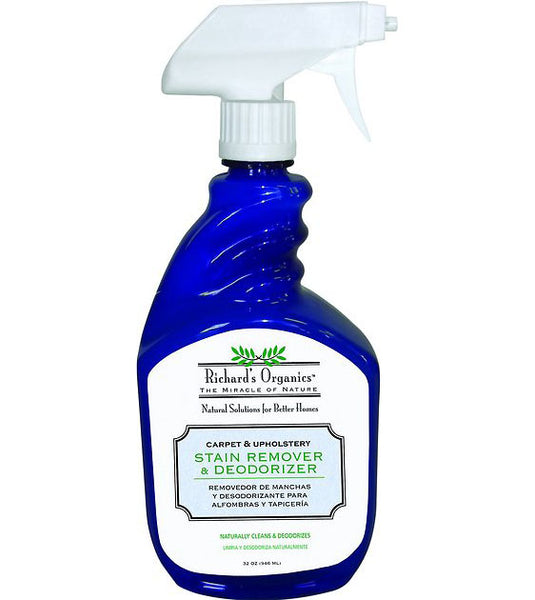 Richard's Organics Stain Remover & Dedorizer for Home