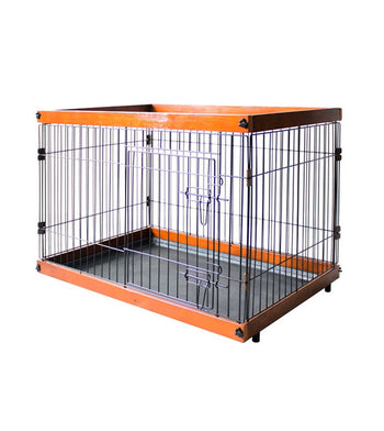 Simply Palace New Zealand Pine Wood Dog Crate