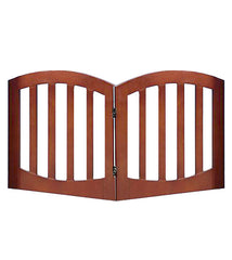 Simply Shield Luxury New Zealand Pine Wood 2 Panel Dog Gate