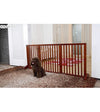 Simply Shield Supreme New Zealand Pine Wood Extendable Dog Gate