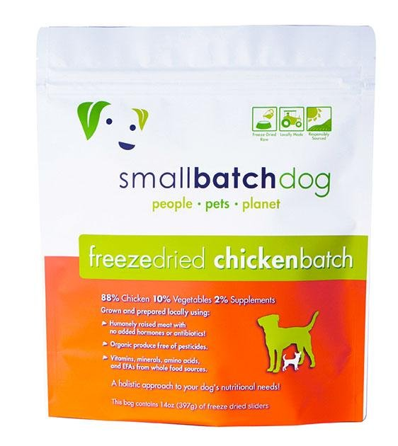 30% OFF: Small Batch Freeze Dried Chicken Sliders Dog Food