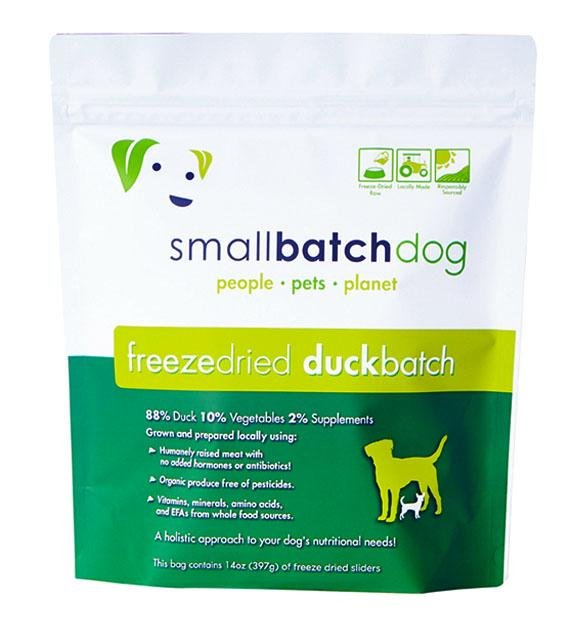 30% OFF: Small Batch Freeze Dried Duck Sliders Dog Food