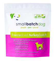 4 FOR $168: Small Batch Freeze Dried Turkey Sliders Dog Food