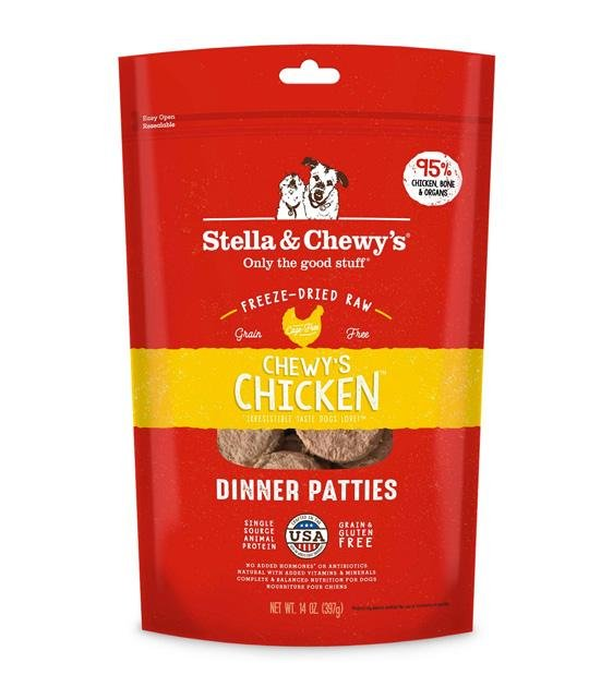 $46 ONLY: Stella & Chewy's Freeze Dried Chicken Dinner Patties Dog Food