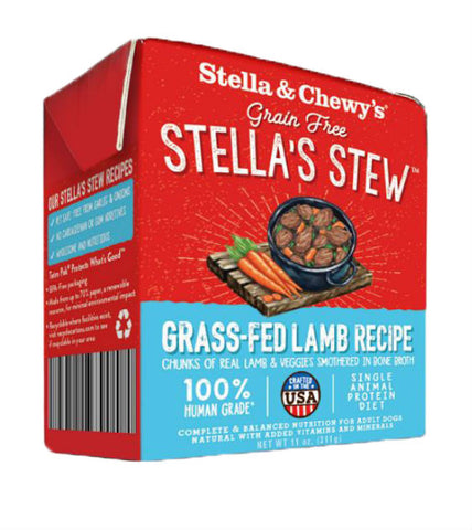 Stella & Chewy's Stews - Grass Fed Lamb Dog Food