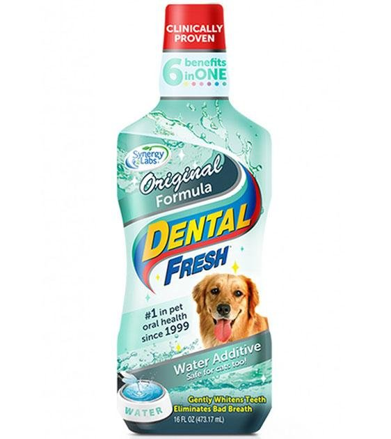 SynergyLabs Dental Fresh Original Water Additive For Dogs
