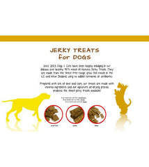 The Real Meat All-Natural Beef Jerky Dog Treats