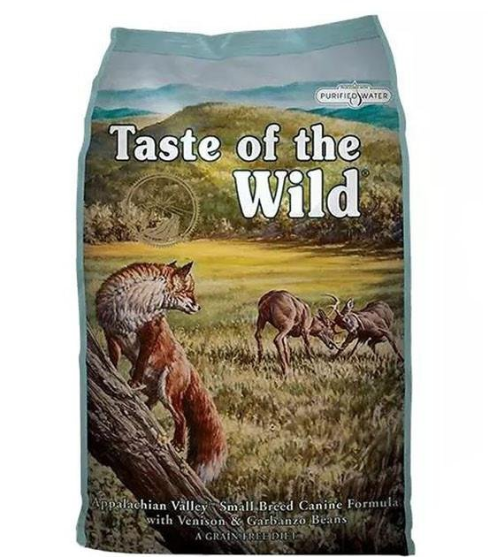45% OFF + FREE FRUITABLES: Taste Of The Wild Appalachian Valley (Small Breed Venison) Dry Dog Food