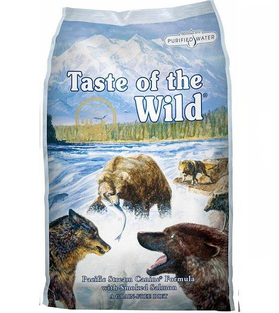 45% OFF + FREE PEE PAD: Taste Of The Wild Pacific Stream (Smoked Salmon Adult) Dry Dog Food