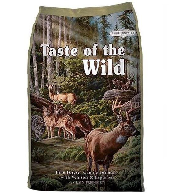 45% OFF + FREE TREAT: Taste Of The Wild Pine Forest (Venison) Dry Dog Food