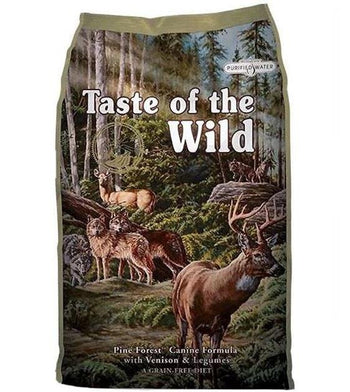 45% OFF + FREE PEE PAD: Taste Of The Wild Pine Forest (Venison) Dry Dog Food
