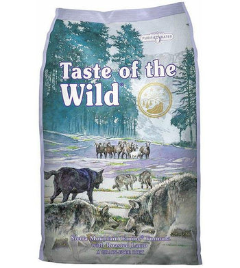 45% OFF + FREE FRUITABLES: Taste Of The Wild Sierra Mountain (Roasted Lamb) Dry Dog Food