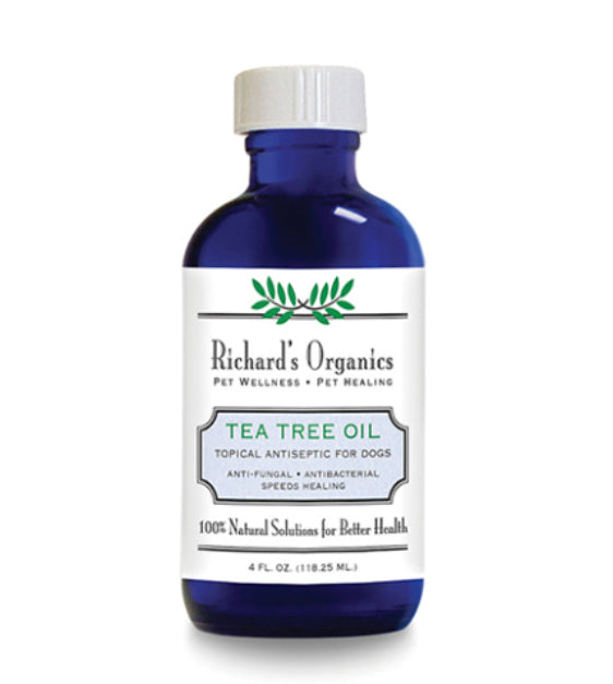 10% OFF: Richard's Organics Tea Tree Oil For Dogs