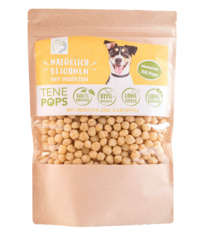 TenePops Insects & Potato Dog Treats