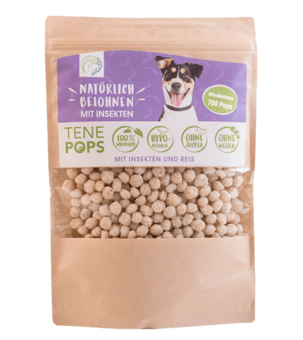 TenePops Insects & Rice Dog Treats