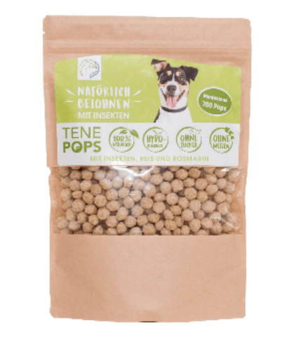 TenePops Insects & Rice & Rosemary Dog Treats