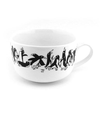 The Animal Project Big Soup Cup (Penguins By Jun-Yi)