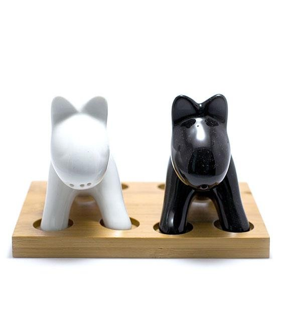 The Animal Project Dog Salt & Pepper Shaker