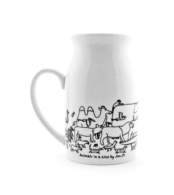 The Animal Project Milk Mug (Animals Exodus By Jun-Yi)