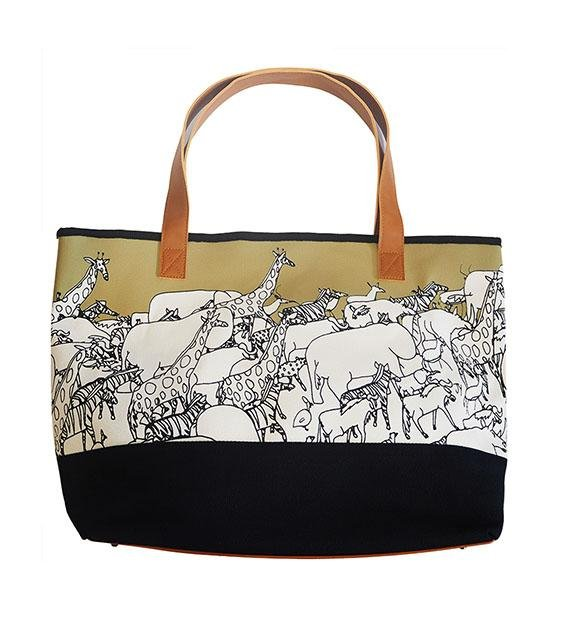 The Animal Project Resort Totes (Animals In Gold By Jun-Yi)