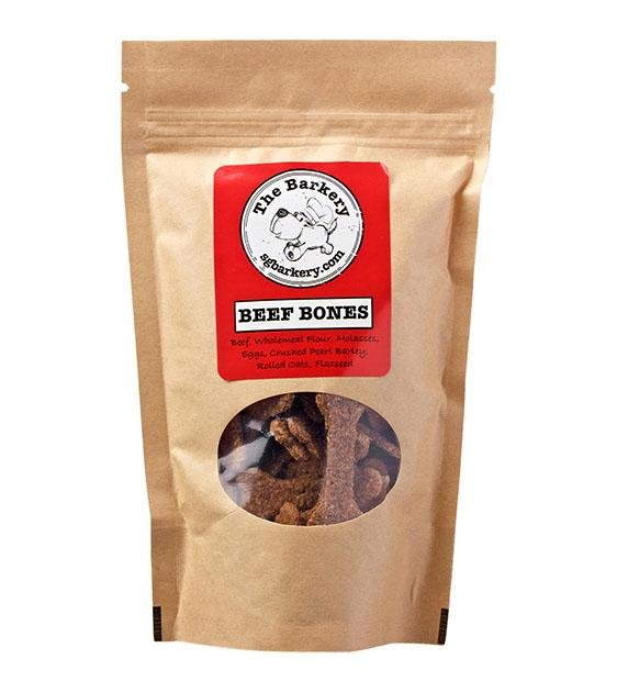 The Barkery Beef Bones Biscuits Dog Treats