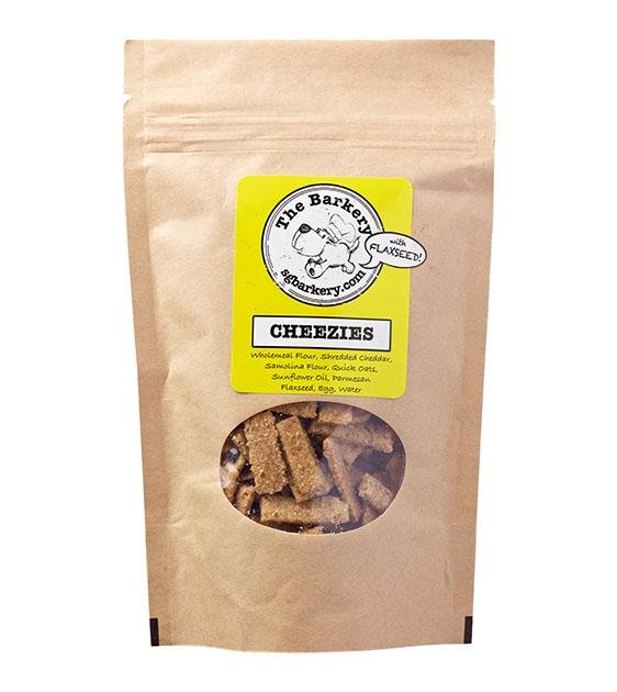 10% OFF: The Barkery Cheezies Cheese Biscuits Dog Treats