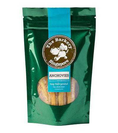 The Barkery Dehydrated Anchovies Dog Treats