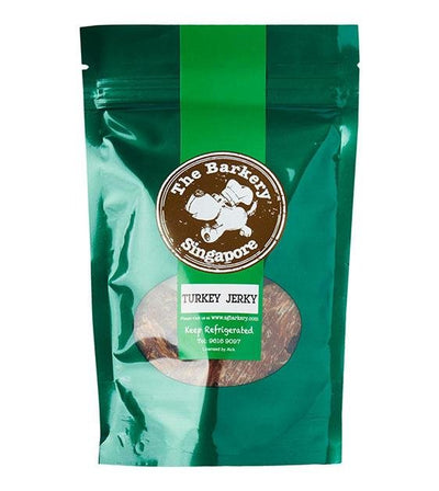 The Barkery Dehydrated Turkey Breast Jerky Dog Treats
