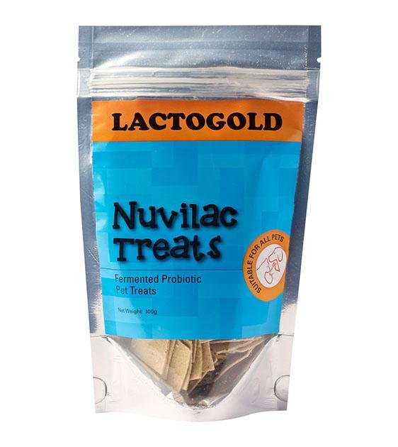 LactoGold Nuvilac Probiotic Fermented Oat Biscuits Dog Treats