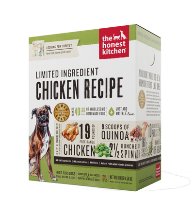 The Honest Kitchen Thrive Chicken Dehydrated Dog Food